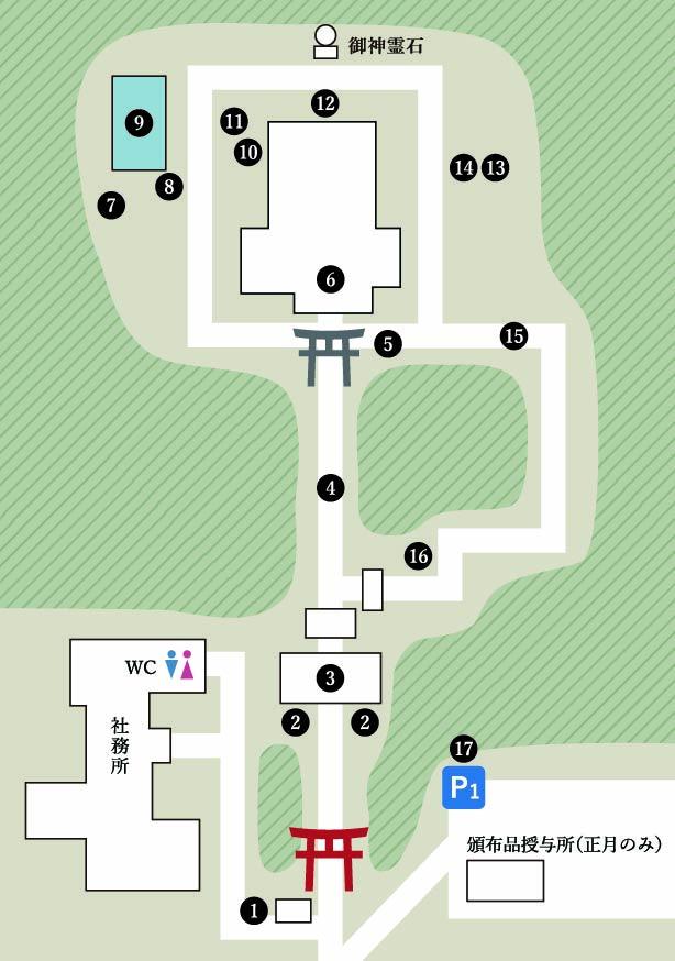 境内案内MAP