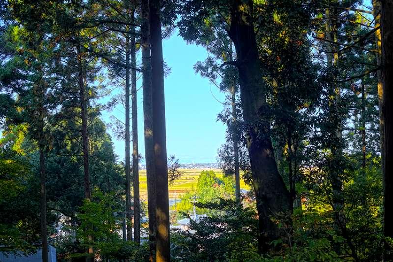 旦飯野神社からの眺め01
